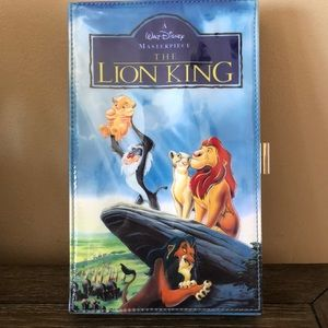 """Disney VHS clutch """"the lion king"""" NEW"""